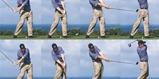 Le mal au dos des golfeurs