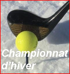 Scramble à 2 Championnat d'hiver 4/4 – Guerville