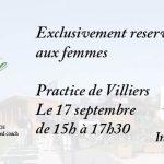 17 Septembre Stage Golf & Bien-être