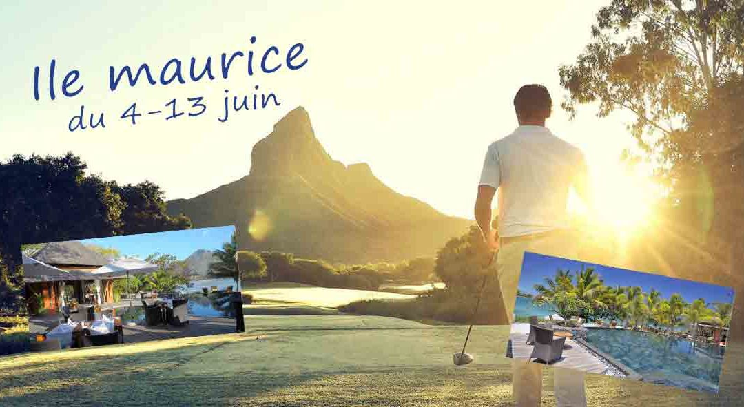Golf et Farniente à l'Ile Maurice