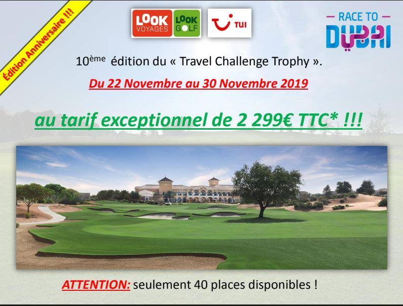 10 ème Travel Challenge Trophy à DUBAI