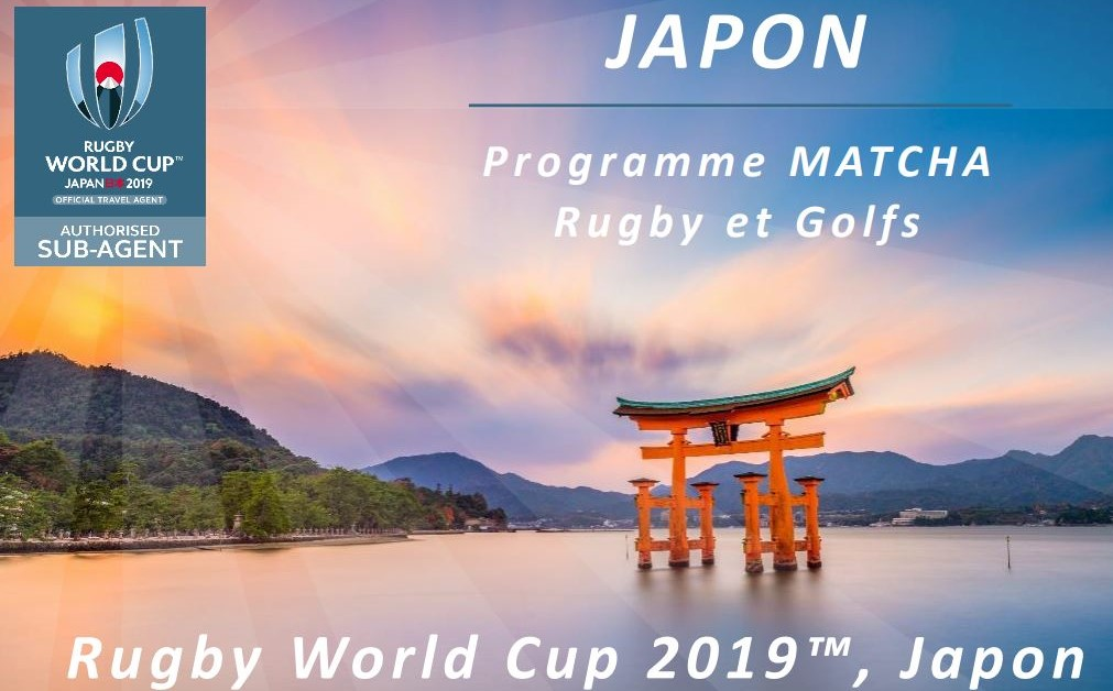 Coupe du monde Rugby et Golf : Tiger Woods